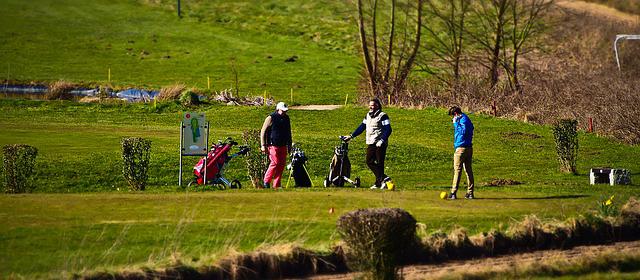lesiones en el golf