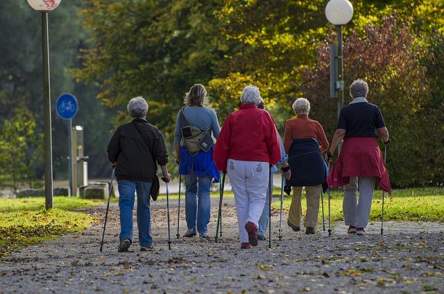 ¿Caminar es bueno para la columna?