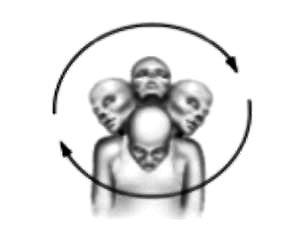 ejercicio de cuello circunvalación