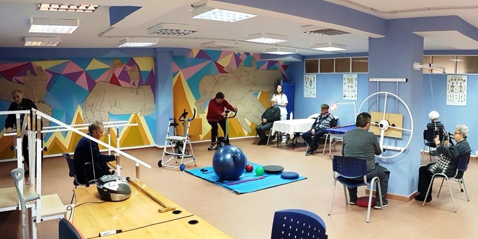 actividad física y rehabilitación